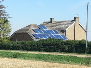 Solar heating system, Ramsey, Eco Installer, Ely