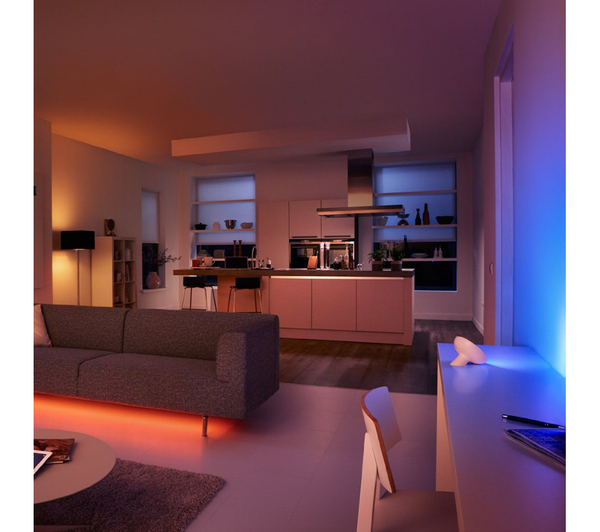 philips hue lightstrip starter kit home decor. Black Bedroom Furniture Sets. Home Design Ideas