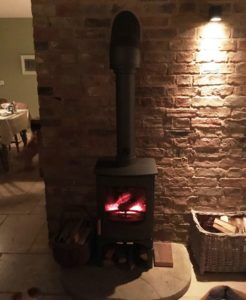 Stove install charnwood c6 Eco Installer Ely Cambs