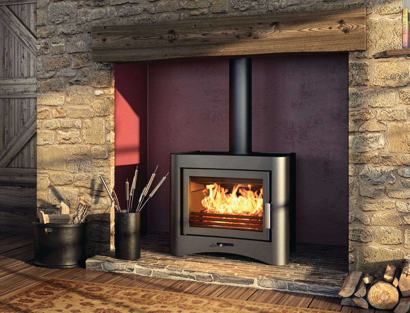 Log Burner Amp Multi Fuel Boiler Installations Ely