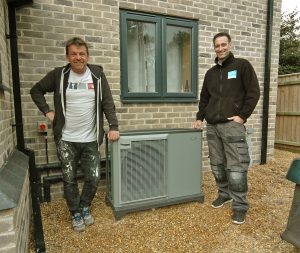 Eco Installer Customer, NIBE Heat Pump Installation